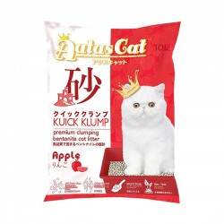 Aatas Cat Bentonite Cat Litter Kuick Klump Apple 10L