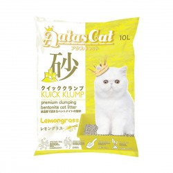 Aatas Cat Bentonite Cat Litter Kuick Klump Lemongrass 10L