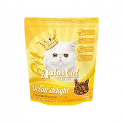 Aatas Cat Dry Food Ocean Delight Salmon 1.2kg