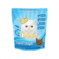 Aatas Cat Dry Food Seafood Delight Tuna & Sardine 1.2kg