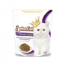 Aatas Cat Dry Food Supreme Gold Chicken & Tuna with Anchovies 1.2kg
