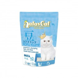 Aatas Cat Tofu Cat Litter Kofu Klump Milk 6L