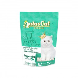 Aatas Cat Tofu Cat Litter Kofu Klump Peppermint 6L