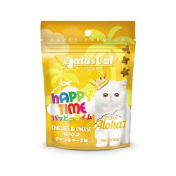 Aatas Cat Treat Happy Time Aloha Chicken & Cheese 60g