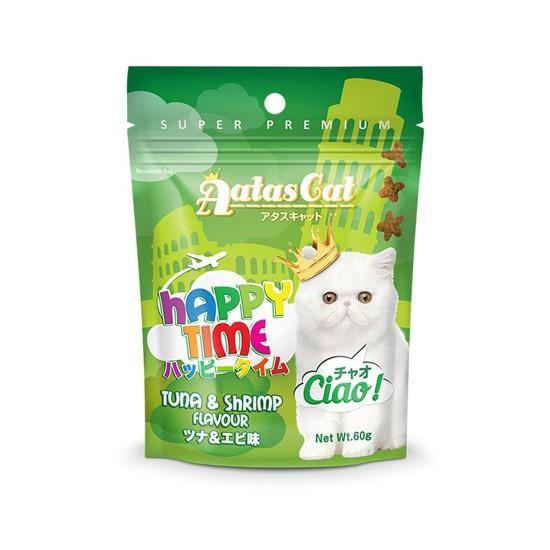 Aatas Cat Treat Happy Time Ciao Tuna & Shrimp 60g