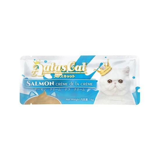 Aatas Cat Treat Salmon Crème De La Crème 16g