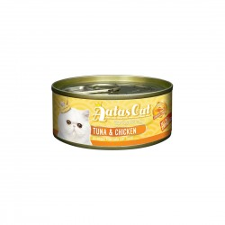 Aatas Cat Wet Food Aspic Tantalizing Tuna & Chicken 80g