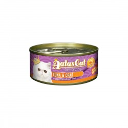 Aatas Cat Wet Food Aspic Tantalizing Tuna & Crab 80g