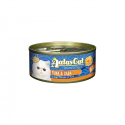Aatas Cat Wet Food Aspic Tantalizing Tuna & Saba 80g