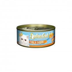 Aatas Cat Wet Food Aspic Tantalizing Tuna & Sardine 80g