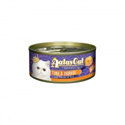 Aatas Cat Wet Food Aspic Tantalizing Tuna & Shirasu 80g