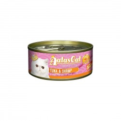 Aatas Cat Wet Food Aspic Tantalizing Tuna & Shrimp 80g
