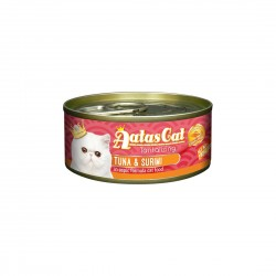Aatas Cat Wet Food Aspic Tantalizing Tuna & Surimi 80g