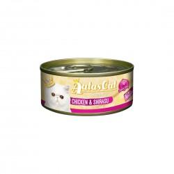 Aatas Cat Wet Food Gravy Creamy Chicken & Shirasu 80g