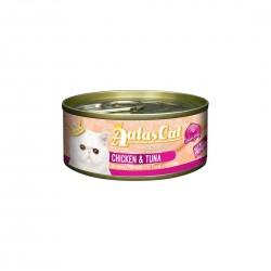 Aatas Cat Wet Food Gravy Creamy Chicken & Tuna 80g