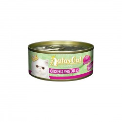 Aatas Cat Wet Food Gravy Creamy Chicken & Vegetables 80g