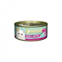 Aatas Cat Wet Food Gravy Creamy Chicken & Whitefish 80g