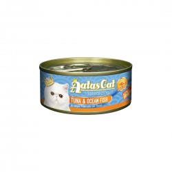 Aatas Cat Wet Food Aspic Tantalizing Tuna & Ocean Fish 80g