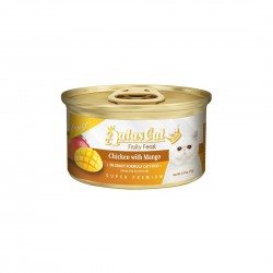 Aatas Cat Canned Food Gravy Finest Fruity Feast Chicken with Mango 70g