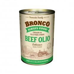 Bronco Dog Canned Food Beef Olio 390g