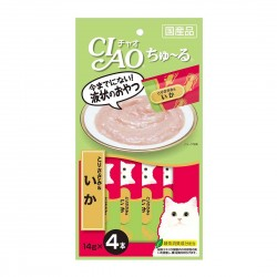 CIAO Cat Treat Chicken Fillet & Squid 14g