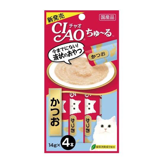 CIAO Cat Food Churu Tuna Katsuo 14g
