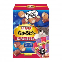 CIAO Cat Treat Churubee Festive Box 10g