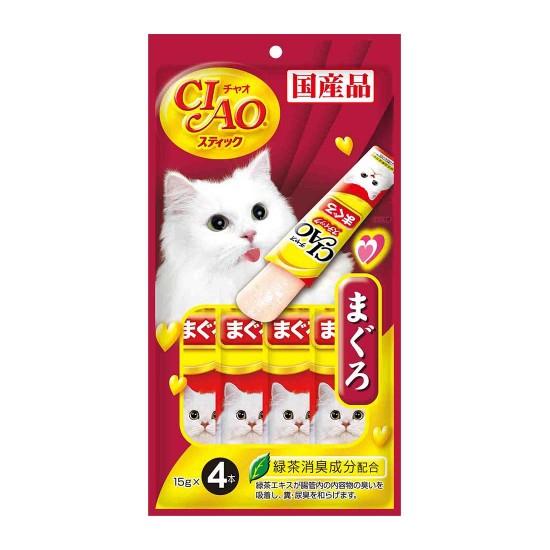 CIAO Cat Treat Stick Jelly Tuna Maguro 15g