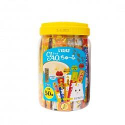 CIAO Cat Treat Churu Seafood Mix Festive Pack 14g