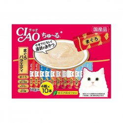 CIAO Cat Treat Churu Tuna Scallop Jumbo Mix 14g