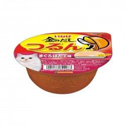 CIAO Cat Food Tsurun Cup Tuna with Scallop Pudding 65g