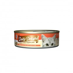 Daily Delight Cat Food Jelly Skipjack Tuna with Carrot 80g