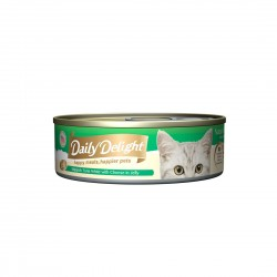 Daily Delight Cat Food Jelly Skipjack Tuna with Cheese 80g