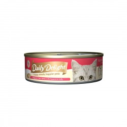 Daily Delight Cat Food Jelly Skipjack Tuna with Sasami 80g
