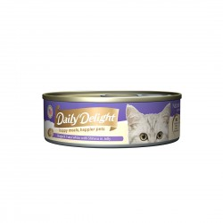 Daily Delight Cat Food Jelly Skipjack Tuna with Shirasu 80g