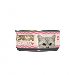 Daily Delight Cat Food Mousse with Chicken 80gr