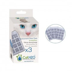 Cat H2O Fresh & Filtered Water for Healthier Pets Replacement Filter Pads