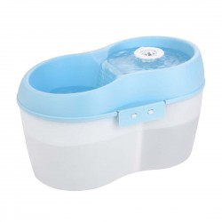 Cat H2O Water Fountain Blue & White 2L