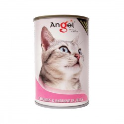 Angel Cat Canned Food Chicken & Sardine in Jelly 400g