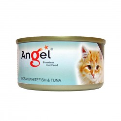 Angel Cat Canned Food Ocean Whitefish & Tuna in Jelly 80g