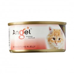 Angel Cat Canned Food Skipjack Flake in Jelly 80g