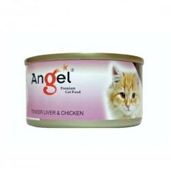 Angel Cat Canned Food Tender Liver & Chicken in Jelly 80g