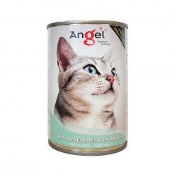 Angel Cat Canned Food Tuna & Seabream in Broth 400g