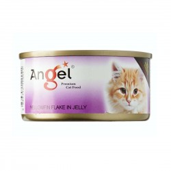 Angel Cat Canned Food Yellowfin Flake in Jelly 80g