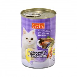 Aristo Cats Cat Canned Food Fisherman's Basket in Lobster Jelly 400g