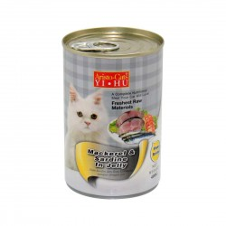 Aristo Cats Cat Canned Food Mackerel & Sardine in Jelly 400g