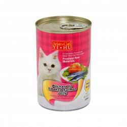 *Haus of Furries* Aristo Cats Cat Canned Food Pilchard in Smoked Salmon Jelly 400g