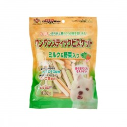 Doggyman Dog Treat Milk & Vegetables Biscuit Stick 180g