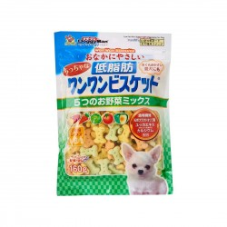 Doggyman Dog Treat Mini Low Fat Biscuit 160g