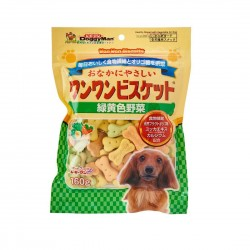 Doggyman Dog Treat Mini Green & Yellow Vegetables Biscuit 160g